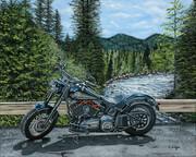 Tyson's Harley